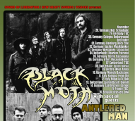 antlered man - black moth