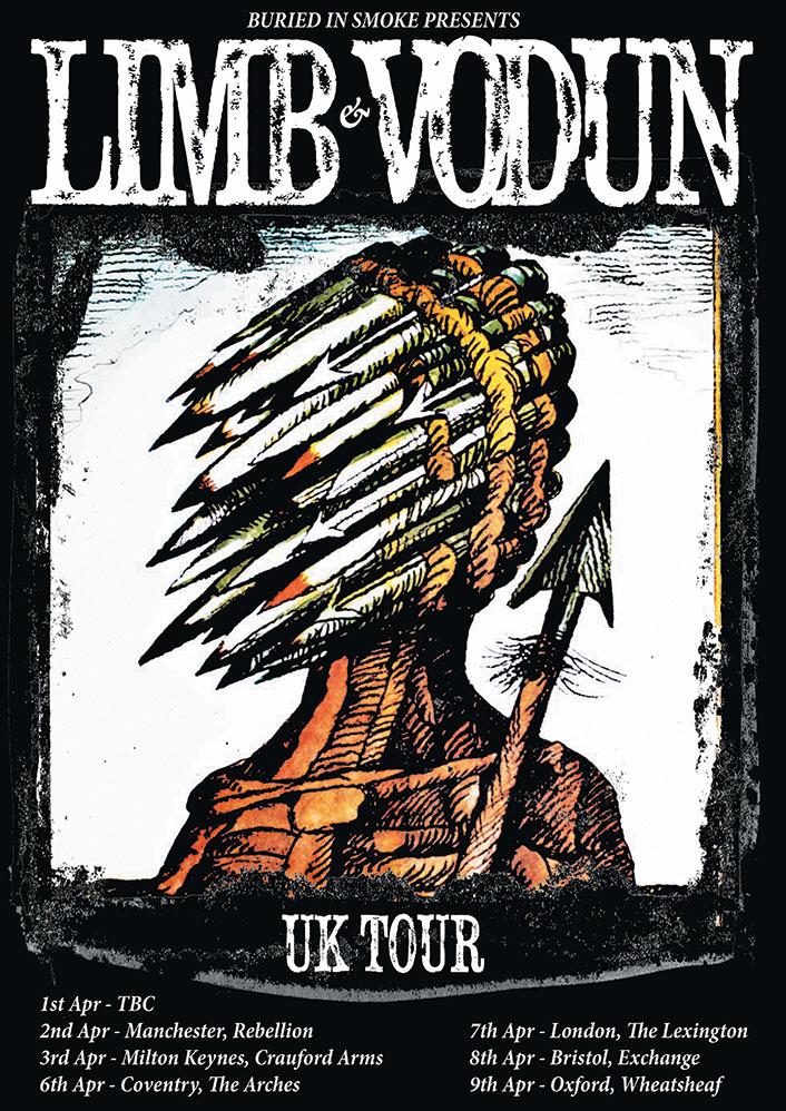 Vodun-Limb-Tour-Poster
