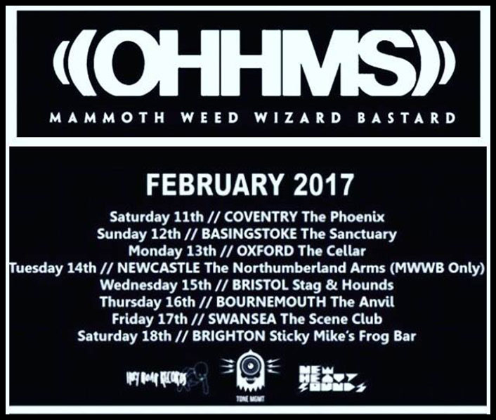Mwwb Tour With Ohmms In February