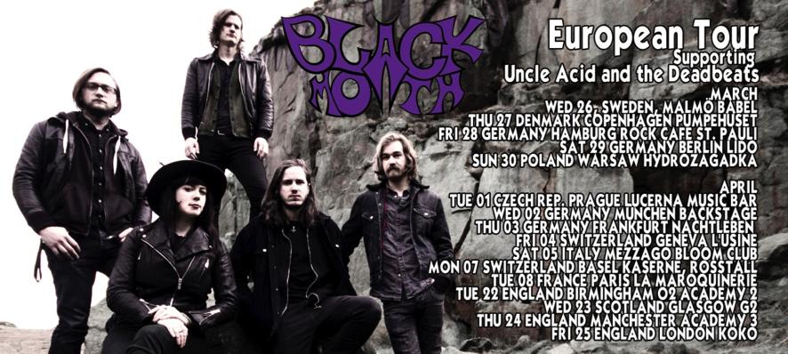 Black Moth - Uncle Acid and the Deadbeats
