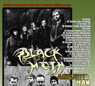 antlered man - black moth